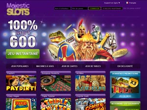 majestic slots casino euro french