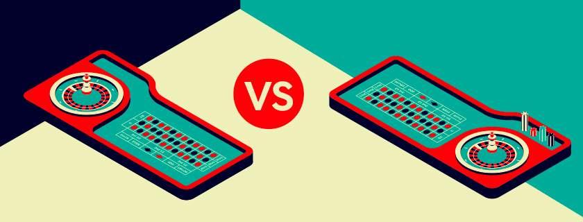 roulette en ligne vs roulette en direct